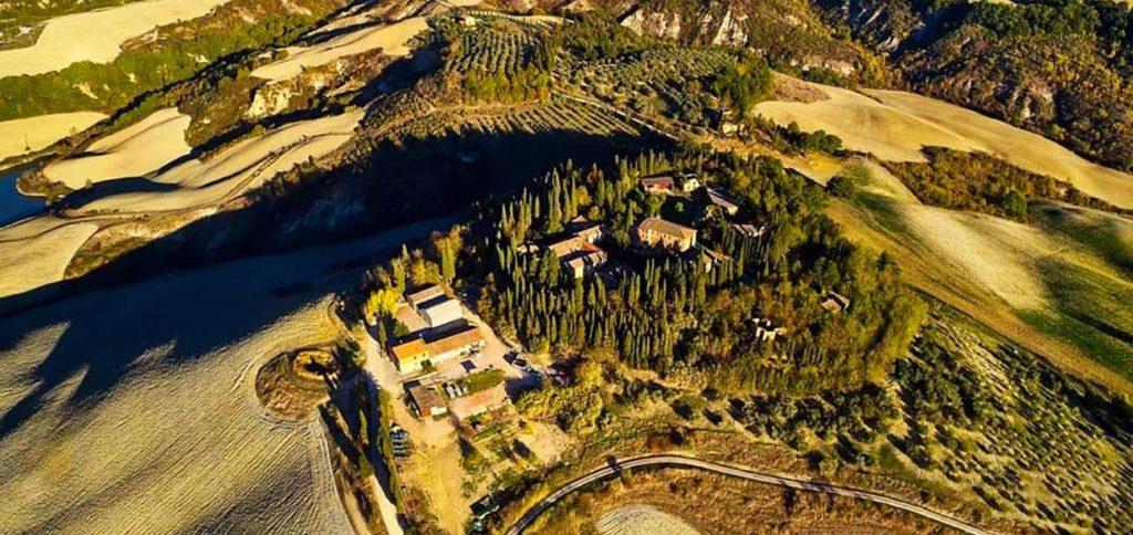 Tenuta Monte Sante Marie dall'alto